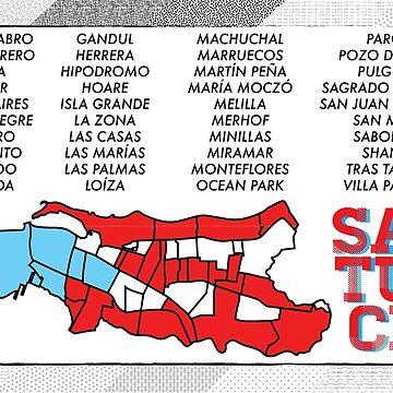 Sectores - SANTURCE!! by NomarLugo