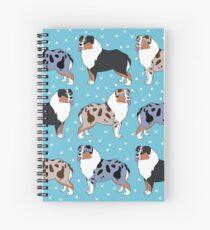 aussies pattern Spiral Notebook