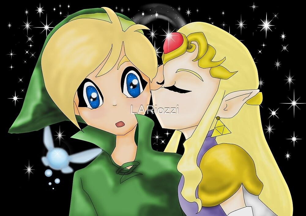 Zelda's Kiss by LARiozzi
