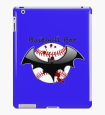 Baseball Bat Flying Bat Bloody iPad Case/Skin