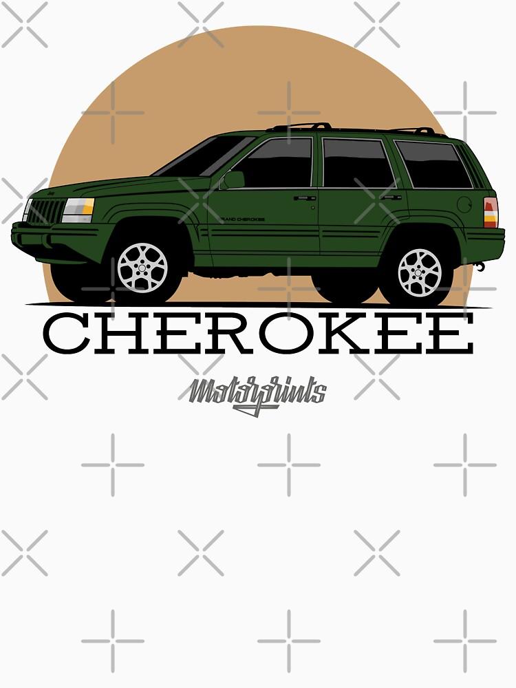Jeep Grand Cherokee (ZJ) (green) by MotorPrints