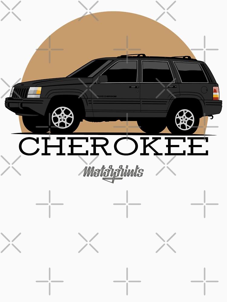 Jeep Grand Cherokee (ZJ) (black) by MotorPrints