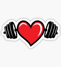 Strong Healthy Heart Sticker