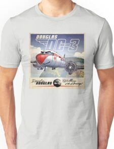 "WINGS Series ""DC-3"" Unisex T-Shirt"