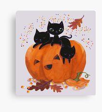 trick or treat! Canvas Print