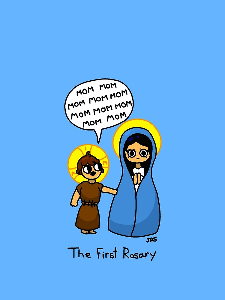 The First Rosary by JohnSmillie