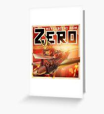 "WINGS Series ""ZERO"" Greeting Card"