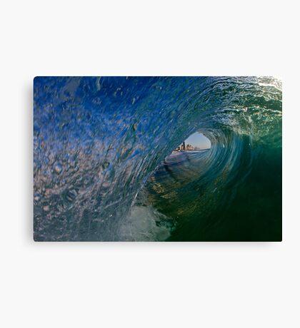 Hello Surfers Leinwanddruck