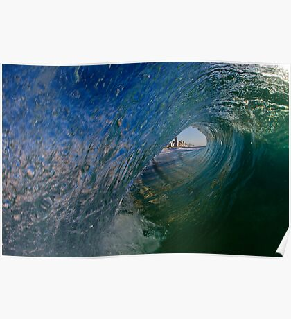 Hello Surfers Poster