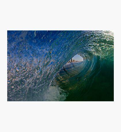 Hello Surfers Fotodruck