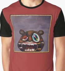Kanye West - My Beautiful Dark Twisted Fantasy Bear Graphic T-Shirt