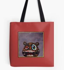 Kanye West - My Beautiful Dark Twisted Fantasy Bear Tote Bag