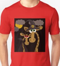 Halloween giraffe party T-Shirt