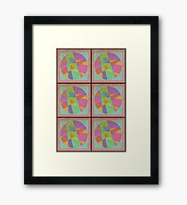 Jazz Circles Framed Print