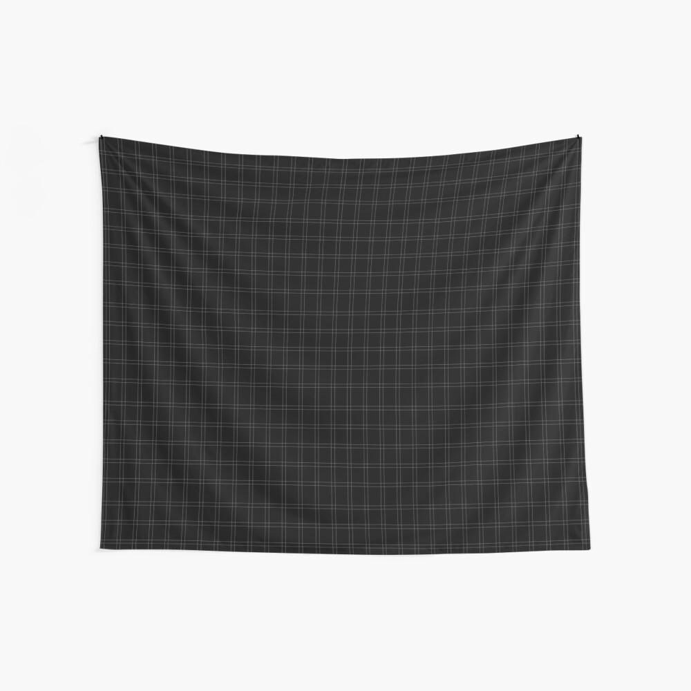 Elegant black n' white stripes Wall Tapestry