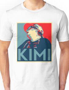 Kimi Räikkönen Hope Unisex T-Shirt