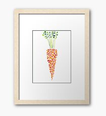 Carrot Framed Print