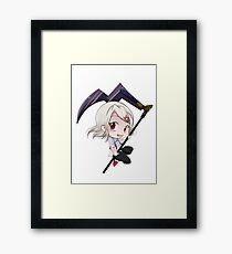 rin chibi Framed Print