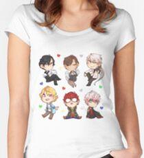 Mystic Messenger Set* Women's Fitted Scoop T-Shirt