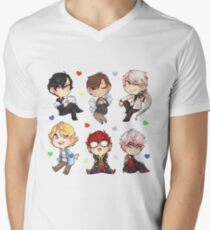 Mystic Messenger Set* Men's V-Neck T-Shirt