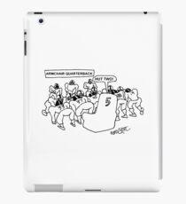 ARMCHAIR QUARTERBACK. iPad Case/Skin