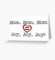 Stim, stim, stim 2 Greeting Card