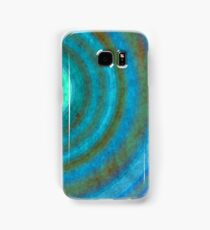Retro concentric background  Samsung Galaxy Case/Skin