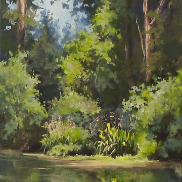 Pond's Edge by karenilari