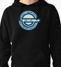 Laughing Man - GHOST IN THE SHELL Pullover Hoodie