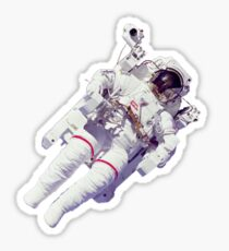 Floating Astronaut Sticker