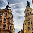 street and sky by Eugenio