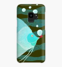 Bubble Fish Red Pipe Case/Skin for Samsung Galaxy