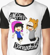 Dan And Phil Graphic T-Shirt