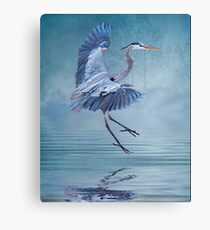 Misty Blue Canvas Print