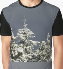 Snow Covered Trees Graphic T-Shirt