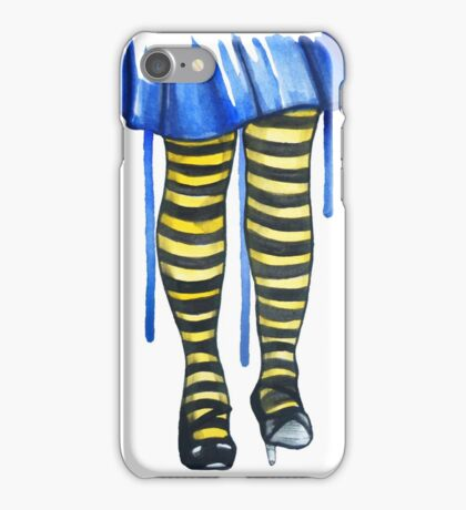 Bumblebee Tights iPhone Case/Skin