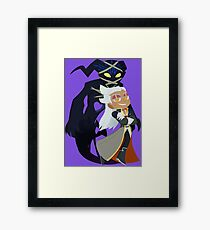Chibi Ansem and Guardian Framed Print
