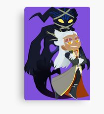 Chibi Ansem and Guardian Canvas Print
