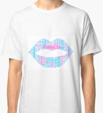 Love Tag Cloud Classic T-Shirt