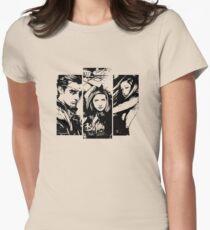 B&W BtVS Trio Womens Fitted T-Shirt