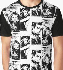 B&W BtVS Trio Graphic T-Shirt