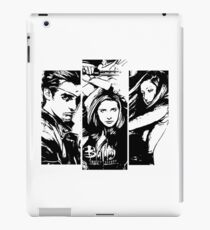 B&W BtVS Trio iPad Case/Skin