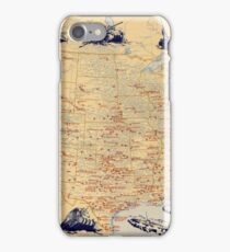 American Military Posts 1944 iPhone Case/Skin
