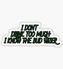 Bud WIser Sticker