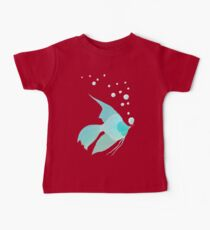 Bubble Fish Red Pipe Baby Tee