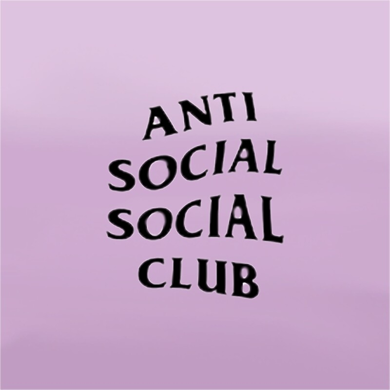 Quot Anti Social Social Club Quot Stickers By Planetkidpj Redbubble