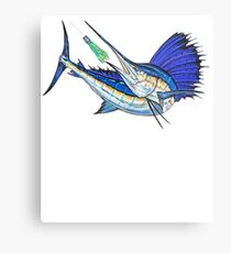 Sport Fishing Metal Print