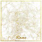Rom Karte Gold von HubertRoguski
