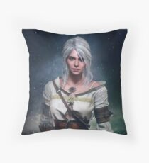 The Witcher 3: Ciri  Throw Pillow