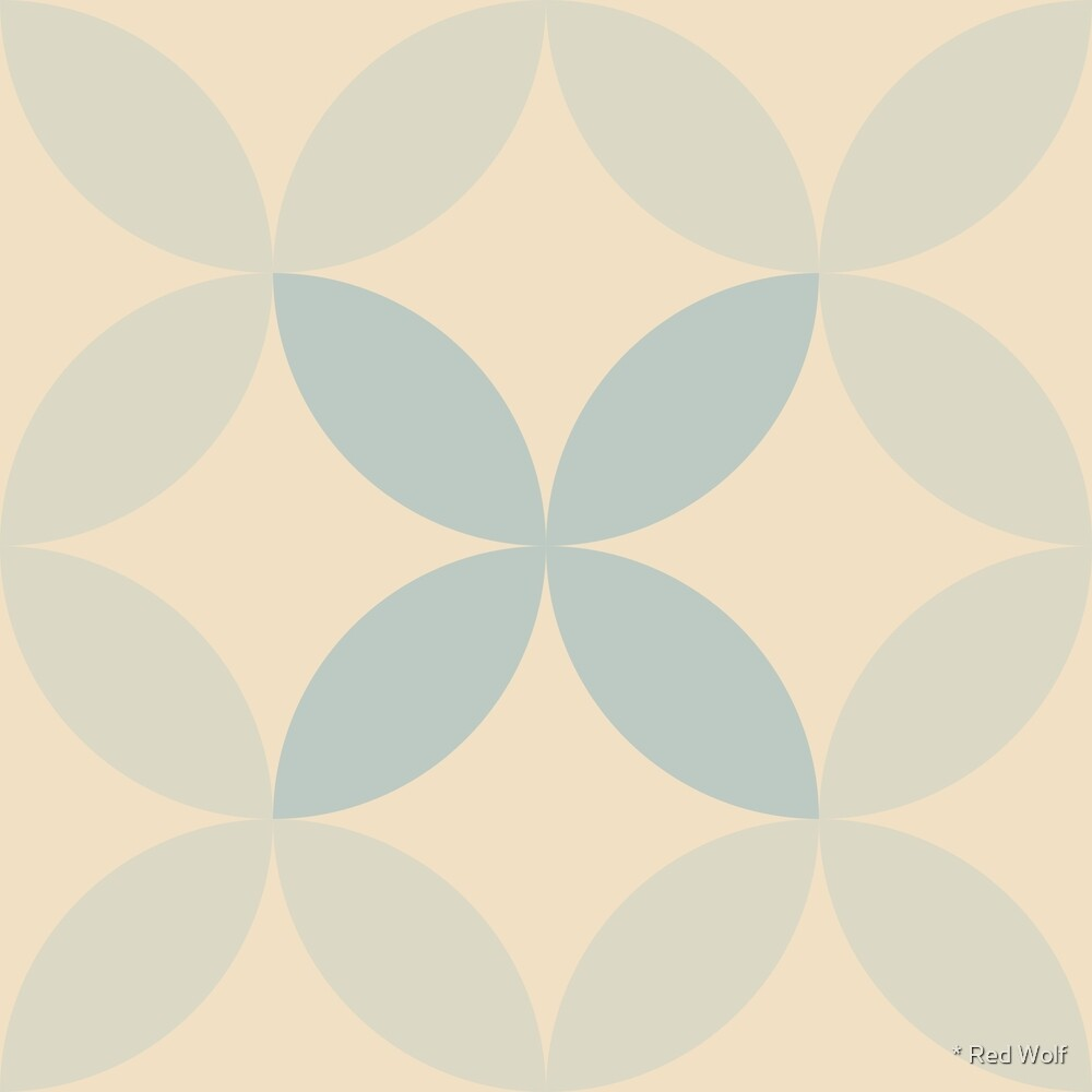 Geometric Pattern: Circle Nested: Julio by * Red Wolf